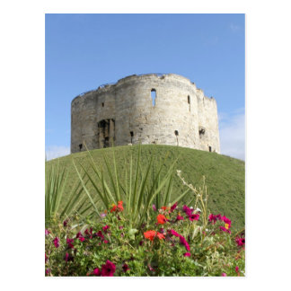 Cliffords Tower Postcard