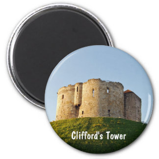 Clifford's Tower Refrigerator Magnet