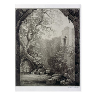 Cliffords Tower, York, Interior, 1827 Postcard