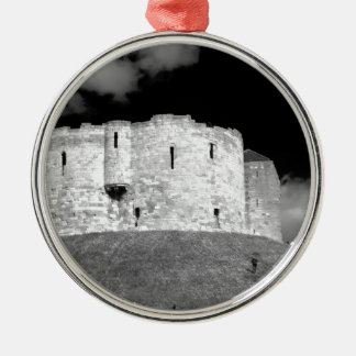Cliffords Tower York Metal Ornament