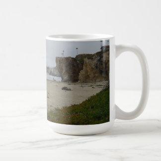 Cliffs Along Pismo Beach Shoreline Coffee Mug