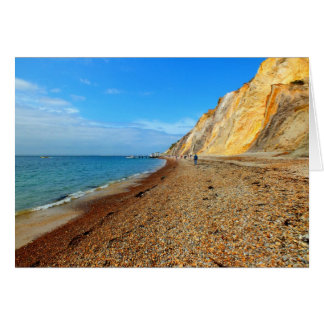 Cliffs and beach at Alum Bay Cards