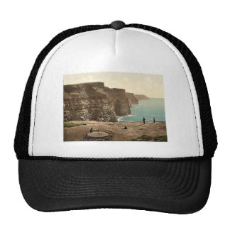 Cliffs at Moher. Co. Claire. (i.e. Clare Co.), Ire Trucker Hat