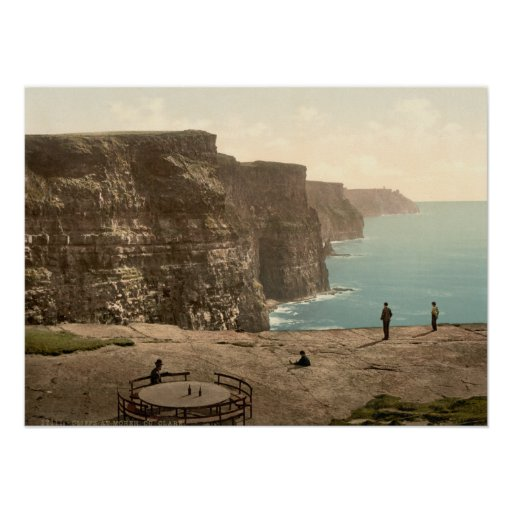 Cliffs at Moher, County Clare Print