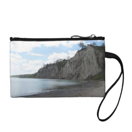 Cliffs at the Scarborough Bluffs Coin Wallets