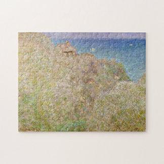 Cliffs at Varengeville Monet Fine Art Jigsaw Puzzle