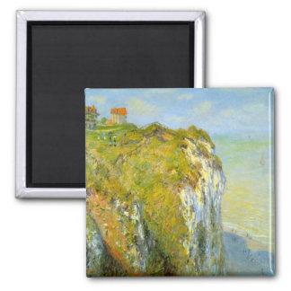 Cliffs by Claude Monet Refrigerator Magnets
