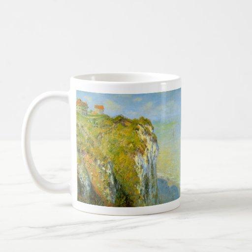 Cliffs by Claude Monet Coffee Mugs