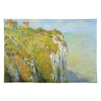 Cliffs by Claude Monet Placemat
