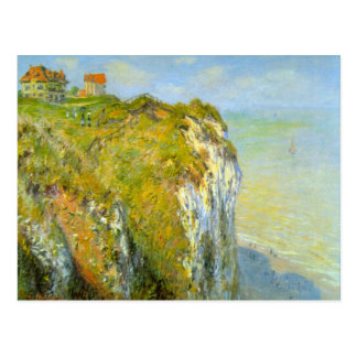Cliffs by Claude Monet Post Cards