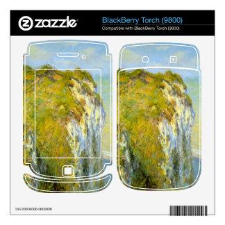 Cliffs by Claude Monet BlackBerry Torch Skin