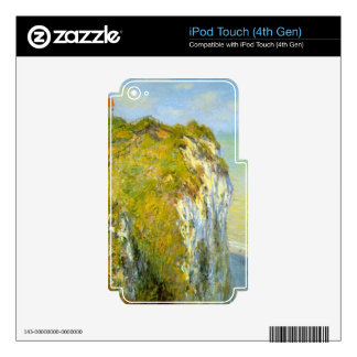 Cliffs by Claude Monet iPod Touch 4G Decal