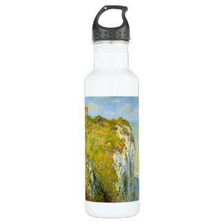 Cliffs by Claude Monet Stainless Steel Water Bottle