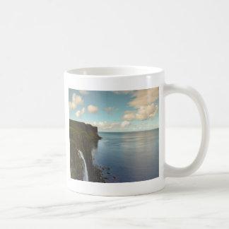 Cliffs by the Ocean Coffee Mug