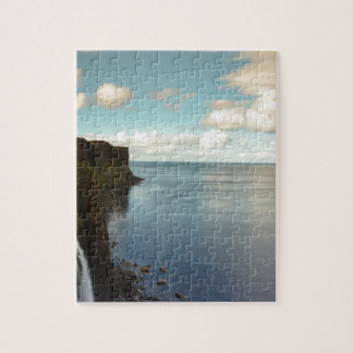 Cliffs by the Ocean Jigsaw Puzzles