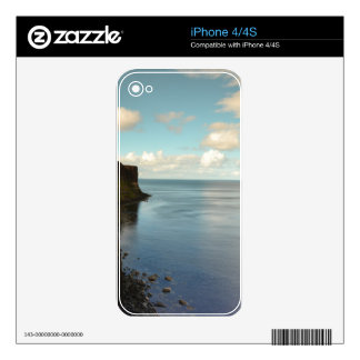 Cliffs by the Ocean Skins For The iPhone 4S