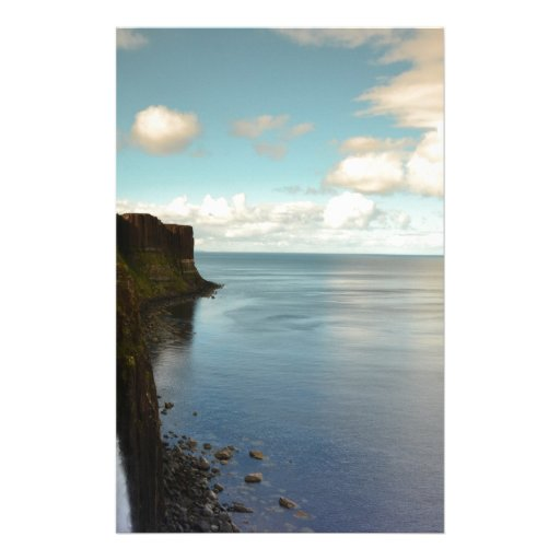Cliffs by the Ocean Stationery Paper