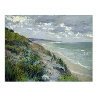 Cliffs by the sea at Trouville Postcard