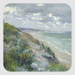 Cliffs by the sea at Trouville Sticker