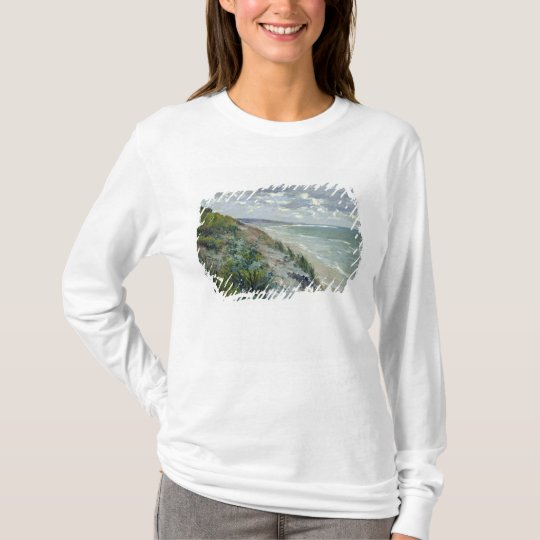 Cliffs by the sea at Trouville T-Shirt