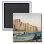 Cliffs, c.1897 2 inch square magnet