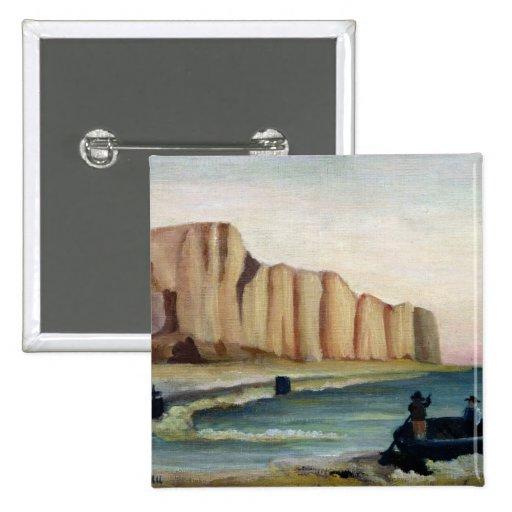 Cliffs, c.1897 button