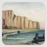 Cliffs, c.1897 square sticker