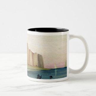 Cliffs, c.1897 Two-Tone coffee mug