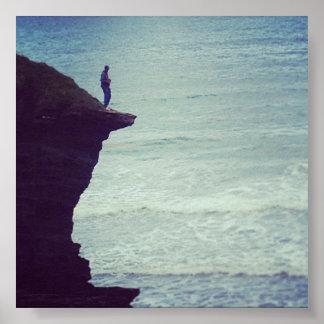 Cliff's Edge: Sea Dive Poster