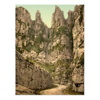 Cliffs I, Cheddar, Somerset, England Post Card