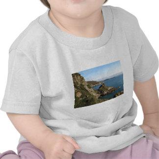 Cliffs in Cornwall near Mevagissey, UK Shirt