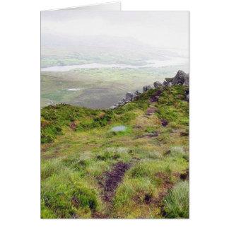 Cliffs In Ireland Card
