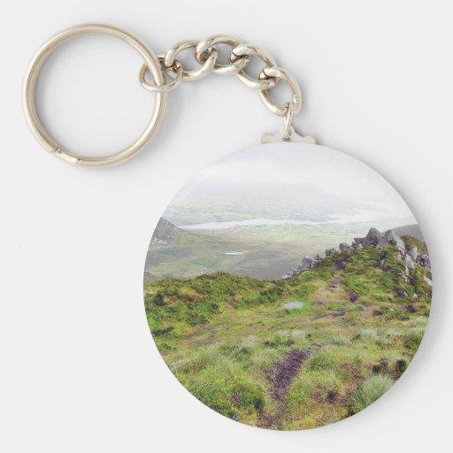 Cliffs In Ireland Keychains