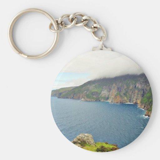 Cliffs Ireland Keychain