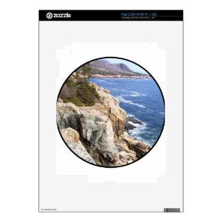 Cliffs near the Ocean Decal For The iPad 2