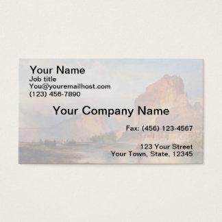 Cliffs of Green River - 1874 Business Card