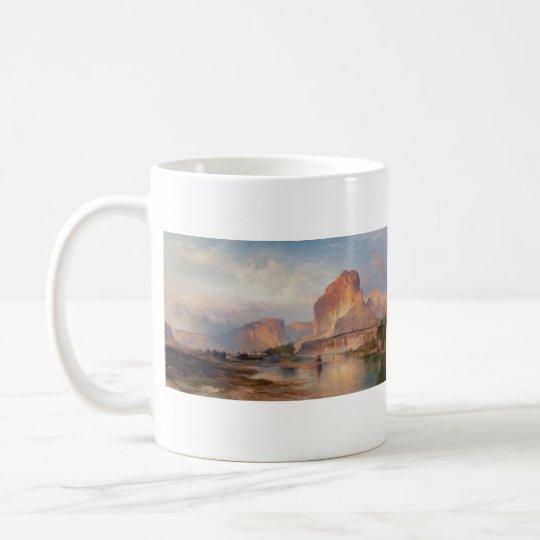 Cliffs of Green River - 1874 Coffee Mug