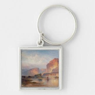 Cliffs of Green River - 1874 Keychain