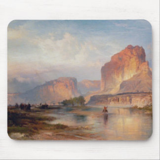 Cliffs of Green River - 1874 Mouse Pad