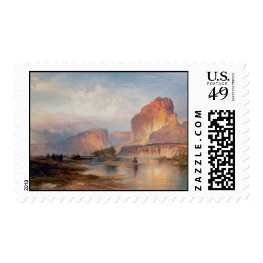Cliffs of Green River - 1874 Postage Stamps