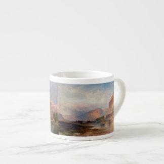 Cliffs of Green River - Thomas Moran (1874) Espresso Cup