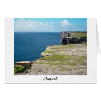 Cliffs of Inishmore Card