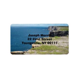 Cliffs of Inishmore Label