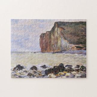 Cliffs of Les Petites-Dalles Monet Fine Art Jigsaw Puzzle