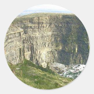 Cliffs of Moher Classic Round Sticker