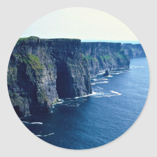 Cliffs of Moher, County Clare, Ireland Classic Round Sticker