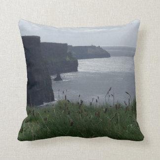 Cliffs of Moher Ireland Irish Pillow