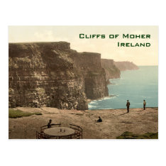 Cliffs Of Moher Irish Music Jig Postcard at Zazzle