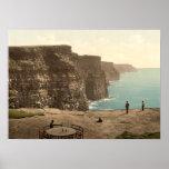 Cliffs of Moher on Atlantic Coast Ireland Poster