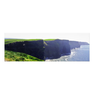 Cliffs of Moher Panoramic Photographic Print